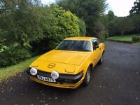 Triumph TR7 FDC in very good condition