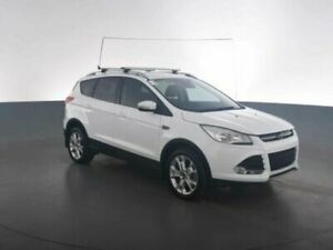2016 Ford Kuga TF MY16.5 TREND PWRSHIFT AWD White Sports Automatic Dual Clutch Wagon Geebung Brisbane North East Preview