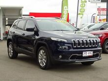 2014 Jeep Cherokee KL Limited True Blue 9 Speed Sports Automatic Wagon Garbutt Townsville City Preview
