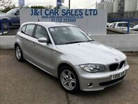 BMW 1 SERIES 2.0 120D SE 5d AUTO 161 BHP A LOW PRICE 5DR FAMILY (silver) 2006