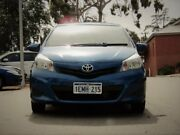 2014 Toyota Yaris NCP130R YR Blue 4 Speed Automatic Hatchback Kalamunda Kalamunda Area Preview