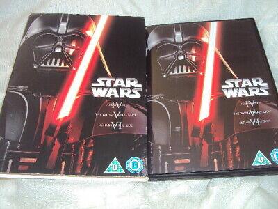 Star Wars-Original Trilogy-IV,V,VI(2013,DVD)3-Disc Set
