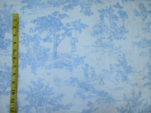 Brand New Toile Minky Fabric for Sewwing or Crafts