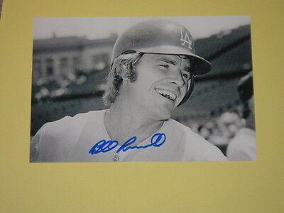 LA Dodgers BILL RUSSELL Signed 4x6 Photo MLB AUTOGRAPH