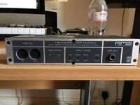 RME audio interface with PCI card