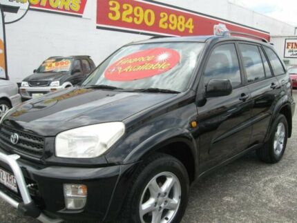 2002 Toyota RAV4 ACA21R Cruiser Black 5 Speed Manual Wagon Underwood Logan Area Preview