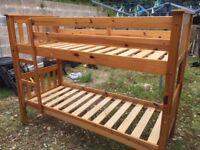 Children's bunk beds - narrow 2'6 (76cm)