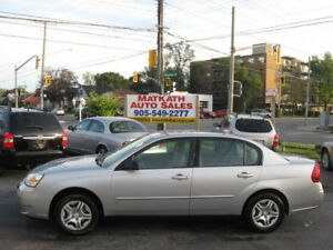 **2006 Chevrolet Malibu LS**  Certified & E-tested