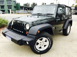 2010 Jeep Wrangler JK MY09 Sport (4x4) Dark Green 6 Speed Manual Softtop Beckenham Gosnells Area Preview