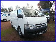 2008 Toyota Hiace TRH201R MY07 Upgrade LWB White 5 Speed Manual Van Homebush West Strathfield Area Preview