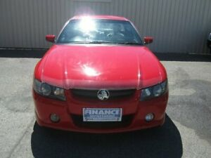 2007 Holden Commodore VZ MY06 Upgrade SS Thunder Red Sting 4 Speed Automatic Utility Windsor Gardens Port Adelaide Area Preview