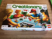 Lego board game- Creationary- as new- £15