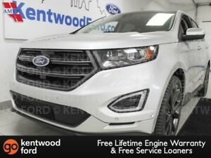 2015 Ford Edge SPORT 4WD ecoboost, NAV, sunroof, heated/cooled p