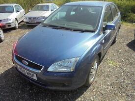 Ford Focus 1.6 TI-VCT GHIA (blue) 2005