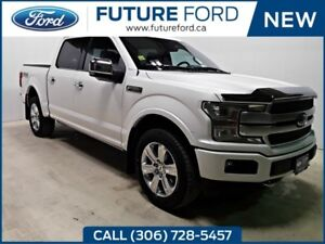 2018 FORD F-150 PLATINUM-TOP OF THE LINE-360 CAMERA SPLIT VIEW