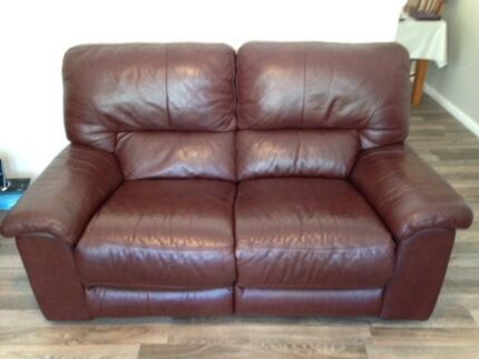 Leather Recliner lounge chairs
