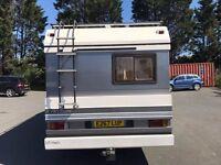 Fiat Hobby Coach Built Motor Home. Full Mot 2500cc 5 speed diesel..left hand drive, cambelt done