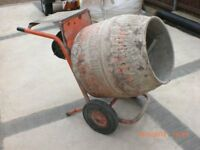 BELLE 240v electric cement mixer