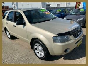 2007 Ford Territory SY TX (4x4) Gold 6 Speed Auto Seq Sportshift Wagon Broadmeadow Newcastle Area Preview