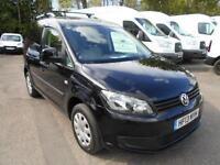 Volkswagen Caddy 1.6 Tdi 75Ps Trendline Van DIESEL MANUAL BLACK (2013)