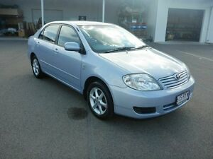 2006 Toyota Corolla ZZE122R 5Y Conquest Blue 4 Speed Automatic Sedan Vincent Townsville City Preview
