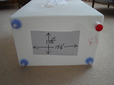RV camper trailer 16 GALLON FRESH WATER  TANK  NEW FDA approved free shipping