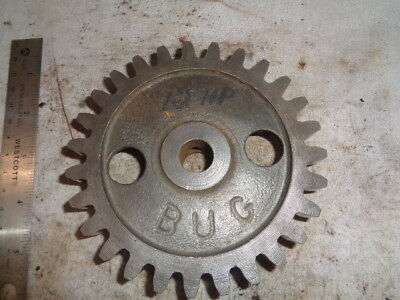 Magneto Gear 12hp Associated United Hit Miss Engine Tractor Auto Steam