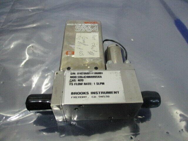 Brooks 5964, Mass Flow Controller, 5964C4MAHU5KA, N20 1 SLPM, 421693