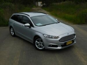 2017 Ford Mondeo MD 2017.00MY Ambiente Silver 6 Speed Sports Automatic Wagon