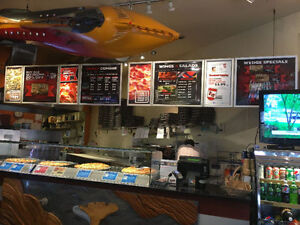Franchise business opportunity Running Pizza Store on sale/Lease