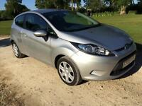 2009 Ford Fiesta 1.25 ( 82ps ) Style + 3 door in Moondust Silver