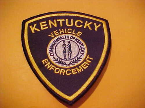 KENTUCKY STATE VEHICLE ENFORCEMENT POLICE PATCH SHOULDER SIZE UNUSED