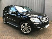 Mercedes Benz ML350 3.0 CDI 231 B/E Sport Tiptronic, Diesel, Genuine 46,000 Miles Only, Gorgeous!!!