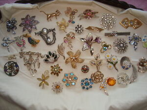 ancienne broches 5.00 chacunes