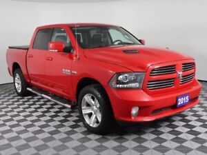 2015 Ram 1500 HEATED&COOLED SEATS/REMOTE START/TRAILER BRAKE CON
