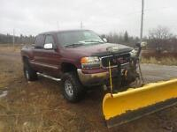 1999 GMC Sierra 1500 with 7.6 meyers plow