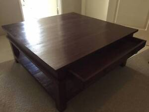 Bali style square coffee table Clarkson Wanneroo Area Preview