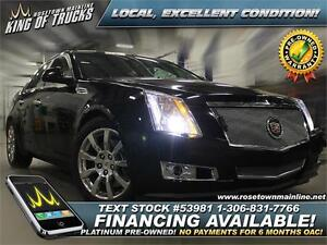 2008 Cadillac CTS 3.6L All-Wheel Drive | Immaculate | PST PAID