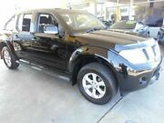 2013 Nissan Navara D40 MY12 ST (4x4) Black 6 Speed Manual Dual Cab Pick-up Victoria Park Victoria Park Area Preview