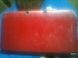 red working 3ds xl