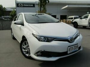 2017 Toyota Corolla ZRE182R Ascent Sport S-CVT White 7 Speed Constant Variable Hatchback Maroochydore Maroochydore Area Preview