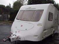 Fleetwood Colchester Two Berth Touring Caravan