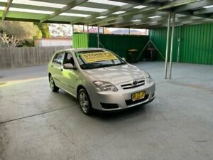 2005 Toyota Corolla ZZE122R 5Y Ascent Silver Automatic Hatchback Croydon Burwood Area Preview