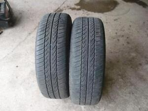 Two 195-60-15 snow tires $50.00