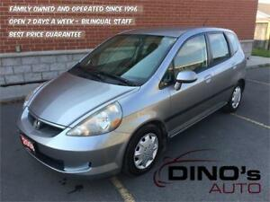 2008 Honda Fit LX | $49 Weekly $0 Down *OAC / Automatic / A/C