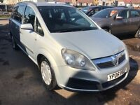 2006 Vauxhall Zafira 1.8 5dr 7 SEATER , AUTOMATIC ,WELL LOOKED AFTER,LOW INS...