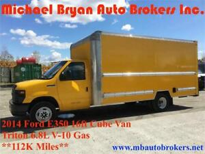 2014 FORD E350 16FT CUBE VAN / BOX TRUCK **GREAT PRICE**