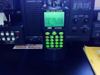 AOR AR-8200 mk 2 HANDHELD WIDE RANGE RECEIVER ALL MODE.may swop forYaesu MD-100A8X Desk Microphone