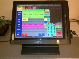 Sam4s SPT-3000 Touch Screen ICRTouch Epos Till & Printer Giant SPT 3000 ICR Cash Register