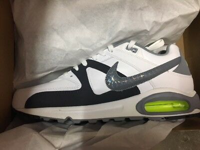 NIKE AIR MAX COMMAND LEATHER HERREN SCHUHE WEIß NEU